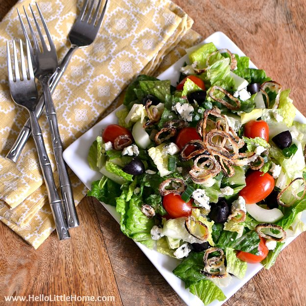 The Ultimate Chopped Salad with Easy Lemon Vinaigrette