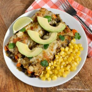 Black Bean and Butternut Squash Enchiladas