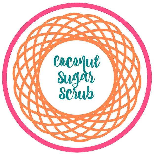 Coconut Oil Sugar Scrub Label | Hello Little Home