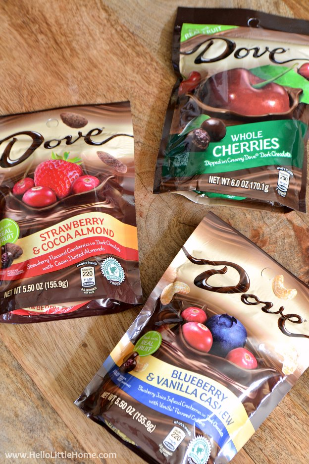 DOVE® Chocolate Fruit & Nut at Walmart | Hello Little Home