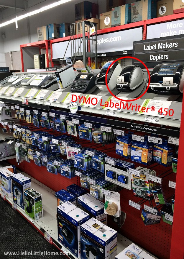 DYMO LabelWriter® 450 Value Pack at Staples | Hello Little Home