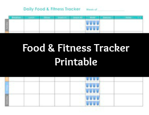 photograph relating to Meal Tracker Printable identified as Free of charge Printable Foodstuff and Health Magazine Hi there Very little Residence