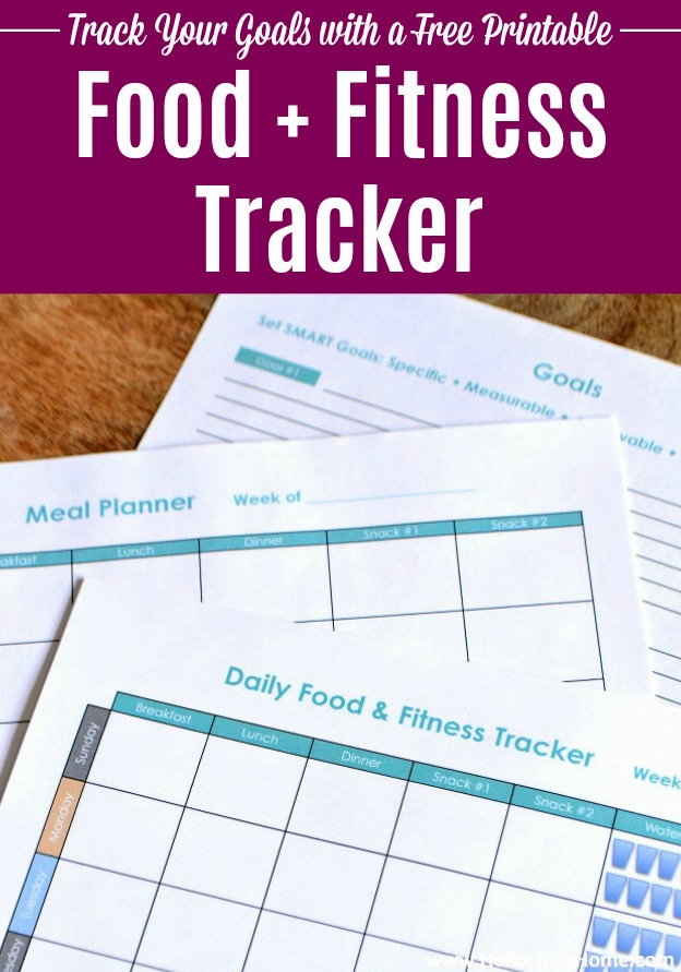 Free Fitness Binder Printables ... a free printable food and fitness tracker.