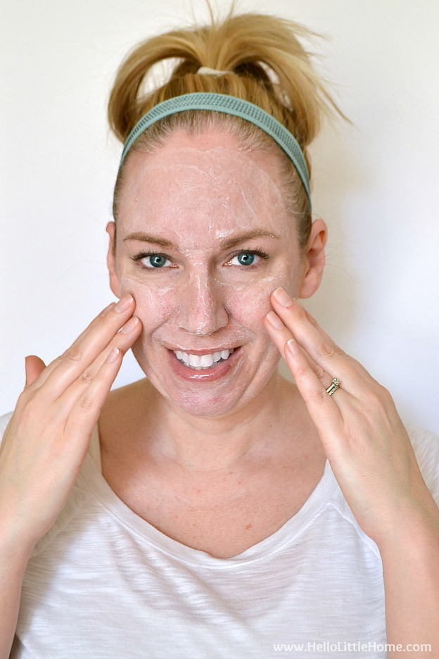 How to Get Beautiful, Glowing Skin ... 4 Easy Tips! | Hello Little Home