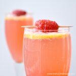 Raspberry French 75
