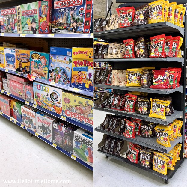 The Game of Life and M&M's® Chocolate Candies at Walmart | Hello Little Home