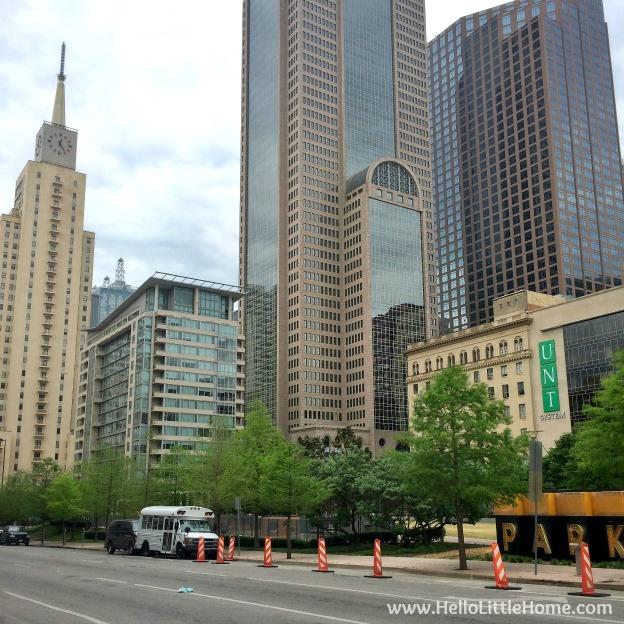 Dowtown Dallas | Hello Little Home