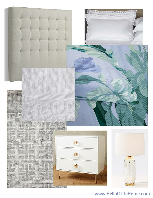 How to Create Luxurious Bedroom Retreat ... easy tips for creating a beautiful bedroom you'll love escaping to every night! | Hello Little Home