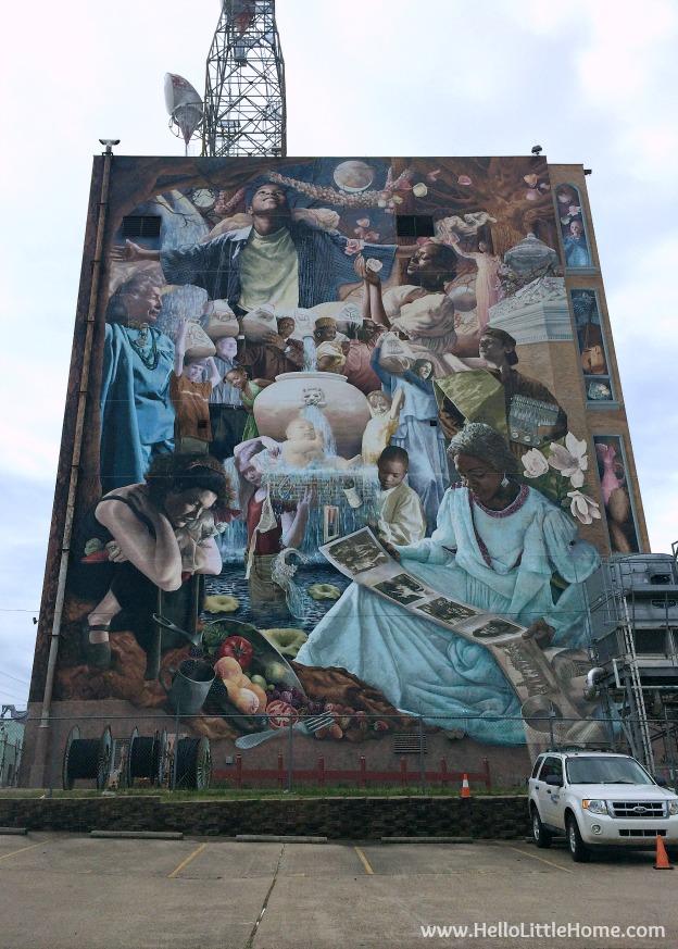 Shreveport Mural | Hello Little Home