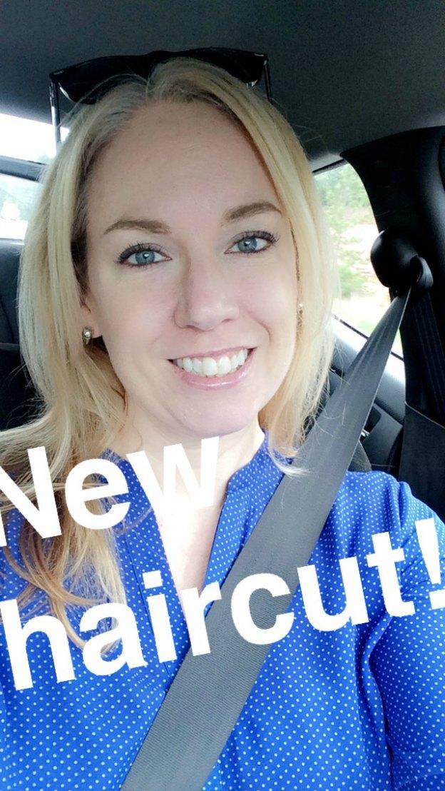 New Haircut + Snapchat | Hello Little Home