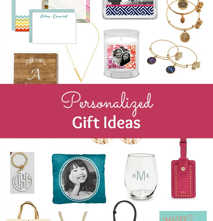 The BEST Personalized Gift Ideas for her! Find awesome personalized gift ideas for friends, family, and even business in this fun holiday gift guide. These unique custom gifts make great keepsakes. Get creative personalized gift ideas for Christmas, Mother's Day, grandparents, sisters, and even gifts for people who are impossible to shop for, at prices ranging from budget to beyond! | Hello Little Home #gift #giftidea #giftsforher #giftguide #mothersday #mothersdaygift #personalized #monogram