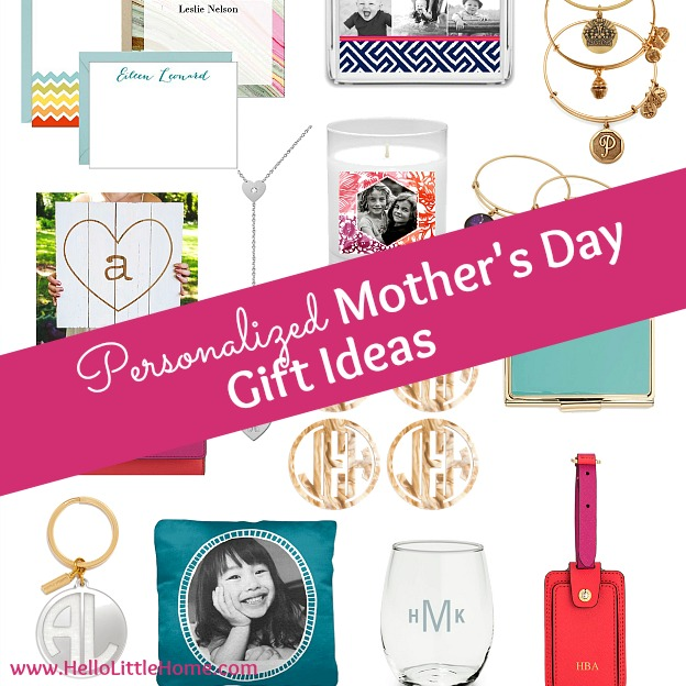 Personalized Mother's Day Gift Ideas ... treat your mom to something special this Mother's Day! | Hello Little Home