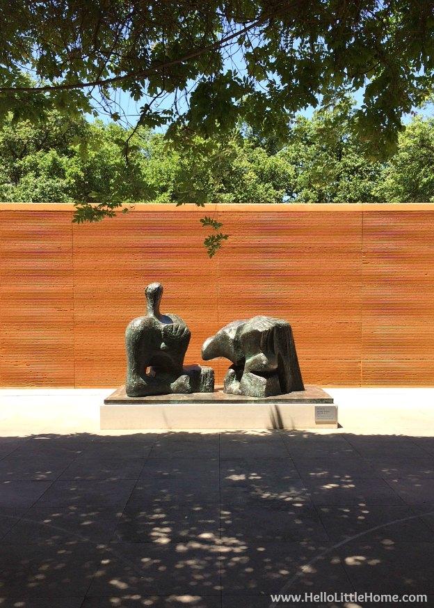 Dallas Museum of Art Sculpture Garden | Hello Little Home
