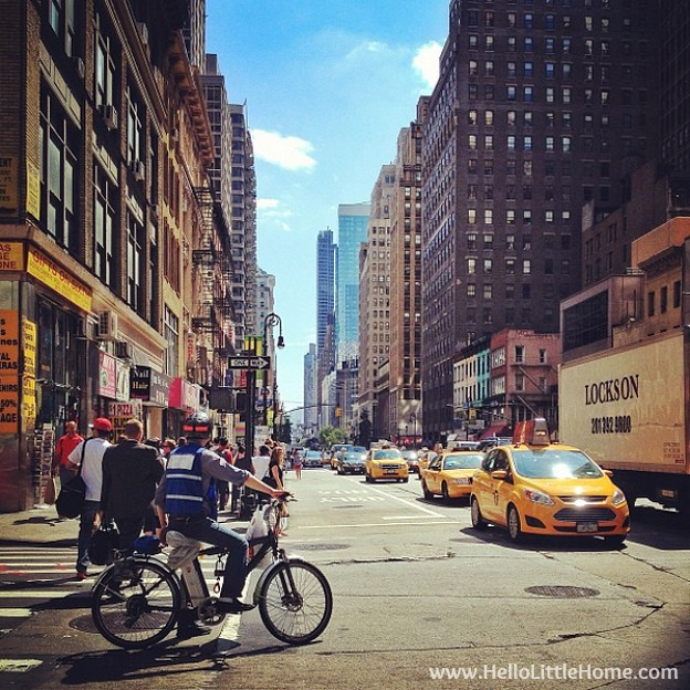 So, you want to visit or move to New York? Check out all my tips and tidbits garnered from my years living in NYC! You can get anything delivered. | Hello Little Home