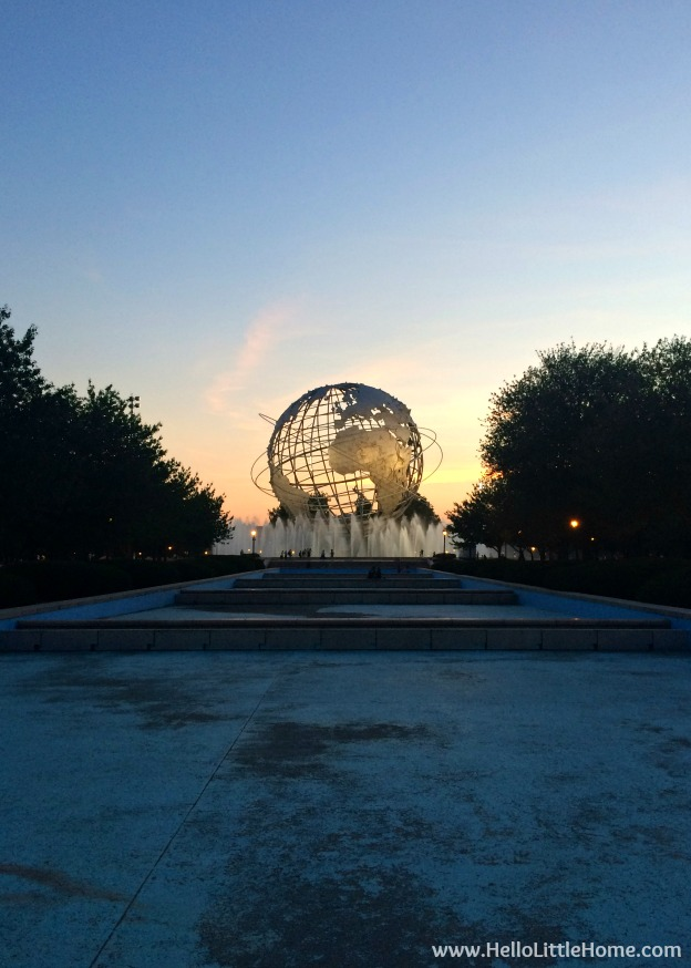 So, you want to visit or move to New York? Check out all my tips and tidbits garnered from my years living in NYC! The Unisphere. | Hello Little Home