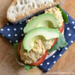 Spicy Chickpea Salad Sandwiches
