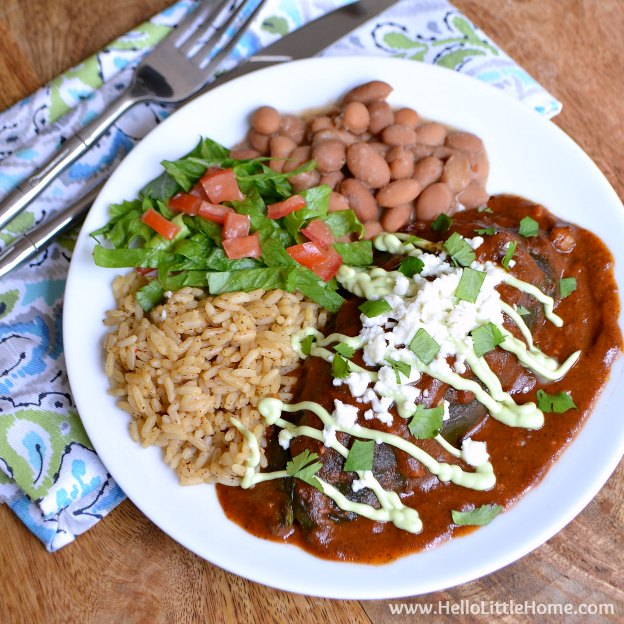 Veggie Stuffed Chiles Rellenos