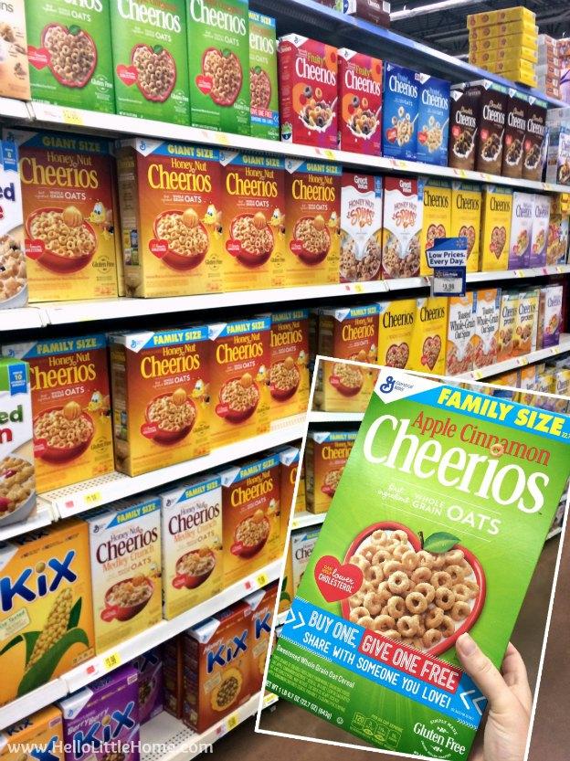 Cheerios™ Buy a Box, Give a Box at Walmart | Hello Little Home