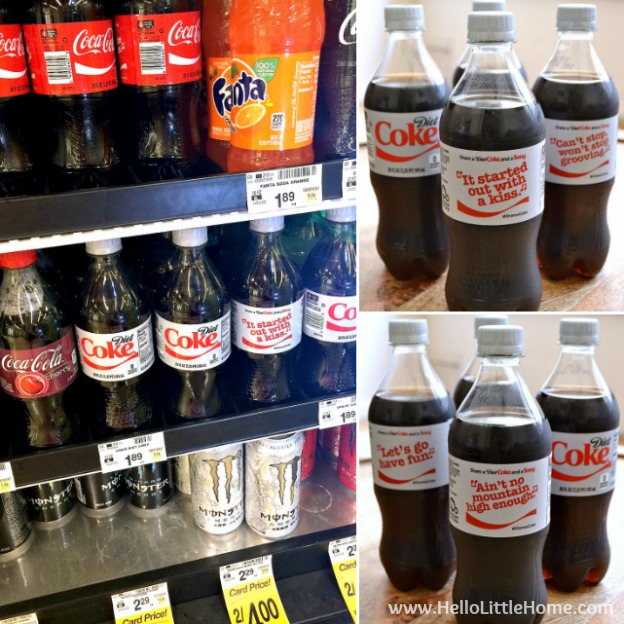 Diet Coke Share a Coke and a Song at Tom Thumb | Hello Little Home