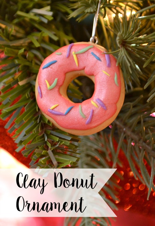10 Adorable DIY Donut Crafts, like this Donut Ornament from One Artsy Mama ... these donut projects are so cute, you won't know which one to make first! | Hello Little Home