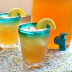 Treat yourself to a glass of Iced Green Tea with Coconut Water! This refreshing, easy to make iced tea recipe is made with coconut water, giving it a lightly sweetened, unique flavor. | Hello Little Home