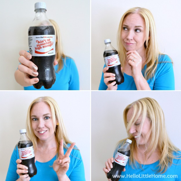 #ExpressUrSelfie with Diet Coke Share a Coke and a Song! | Hello Little Home