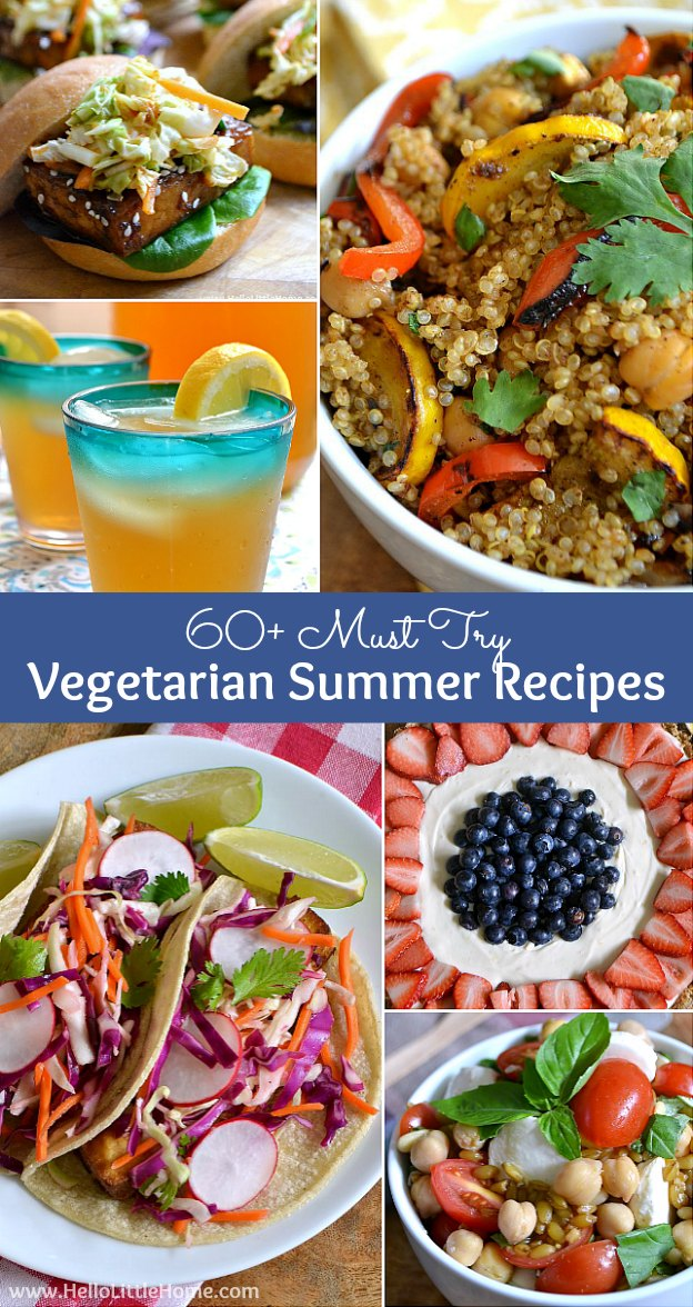 60 vegetarian summer recipes over 60 must try vegetarian summer recipes from drinks to entrees to desserts don forumfinder Images