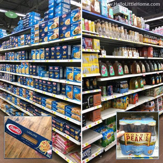 Barilla Pasta and Gold Peak Tea at Walmart! | Hello Little Home