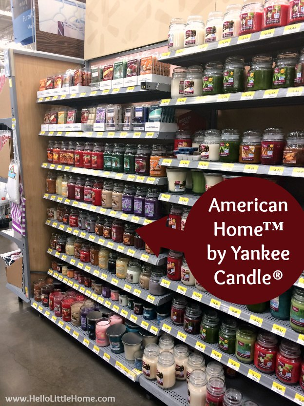 """""""American Home™ by Yankee Candle®"""" at Walmart 