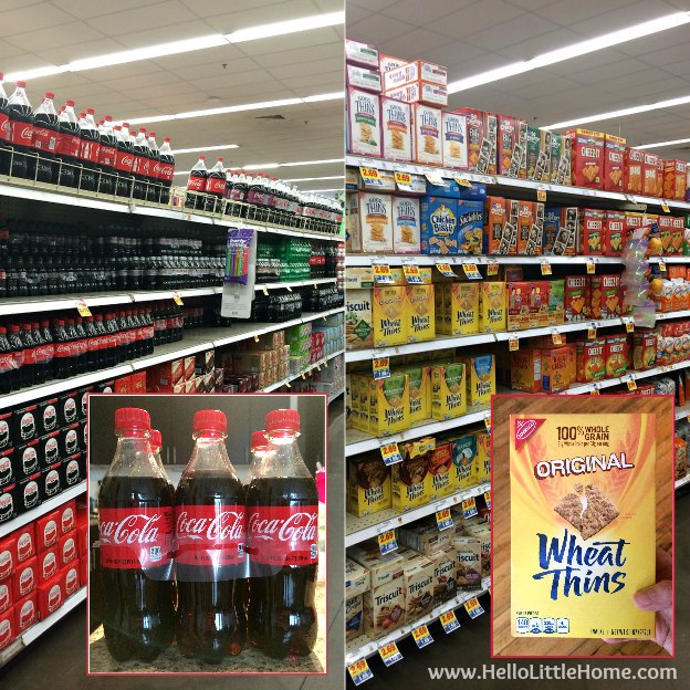 Coca-Cola and Wheat Thins at Kroger | Hello Little Home