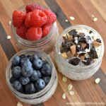 Easy Overnight Oats in a Jar ... 3 Ways! Learn how to make this delicious, nutricious, and timesaving breakfast recipe to free up your mornings! | Hello Little Home