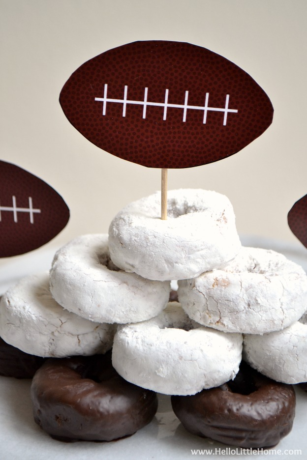 10 Things to Try This February ... celebrate game day! | Hello Little Home #HLH10Things