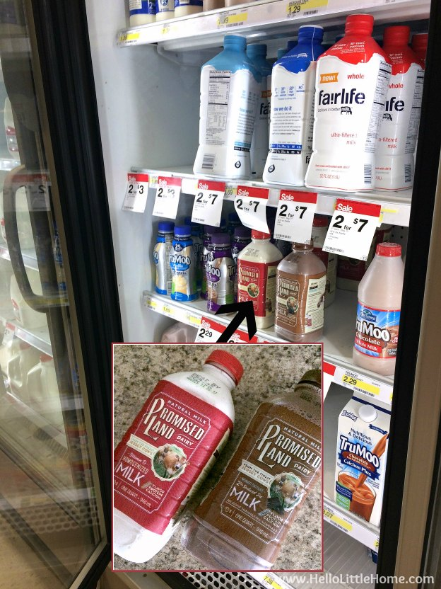Promised Land Dairy Milk at Target | Hello Little Home