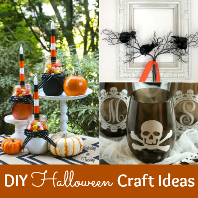 20 DIY Halloween Craft Ideas