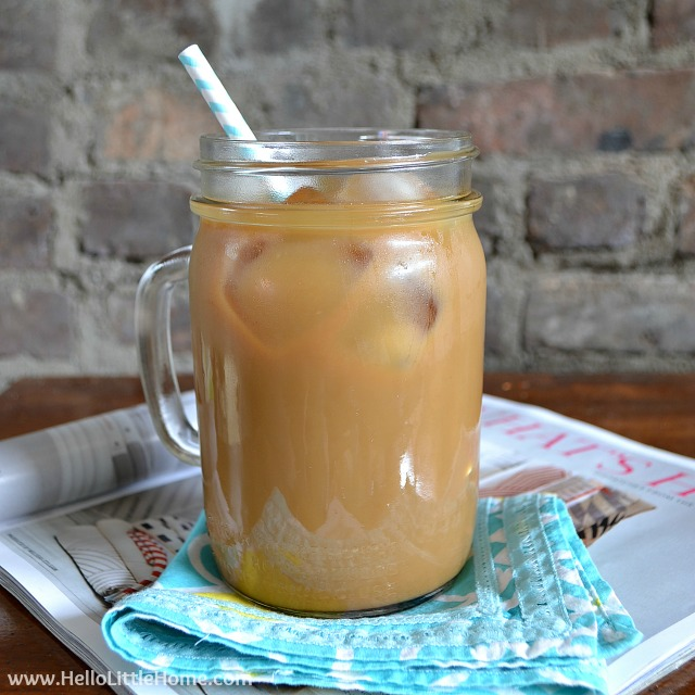 Favorite Things: Iced Coffee | Hello Little Home