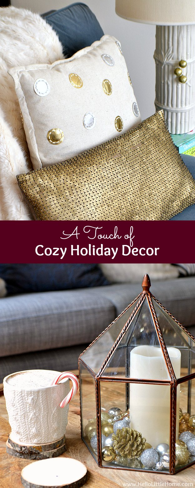 Cozy Casual Decorating Style: A Touch Of Cozy Holiday Decor