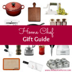 Home Chef Gift Guide ... find the perfect gift for your favorite foodie in this fun gift guide which has something for everyone who loves to cook! | Hello Little Home