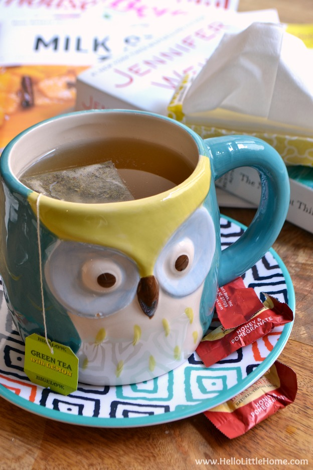 How to Survive a Sick Day! Being sick is no fun, and with cold and flu season just around the corner, it's time to get prepared. Lot's of lighthearted, easy tips for making the most those days when you feel your worst. | Hello Little Home