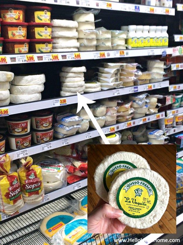 La Vaquita Cheese at Kroger | Hello Little Home
