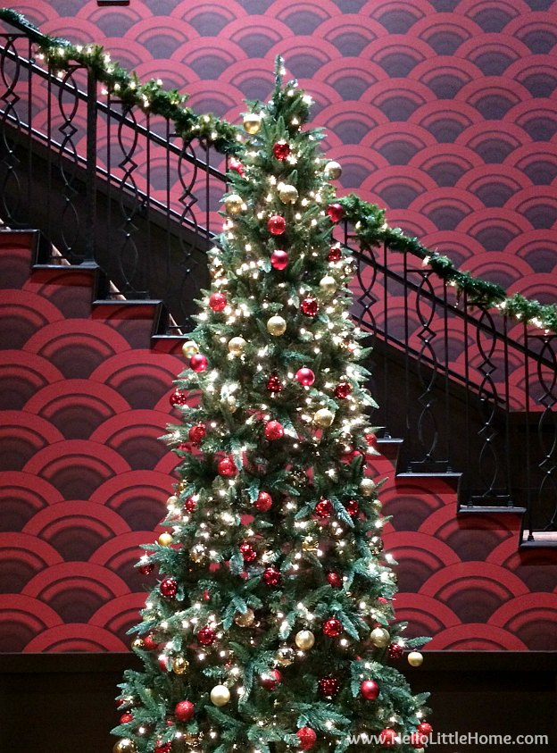Dallas Holiday Tour 2016 ... come tour the Christmas lights and sights in Downtown Dallas with me! Alamo Drafthouse | Hello Little Home