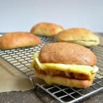 Egg and Roasted Veggie Breakfast Sandwiches