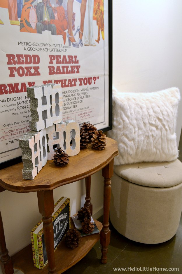 Loft Holiday Tour ... take a tour of my Dallas loft apartment all decked out for Christmas! | Hello Little Home