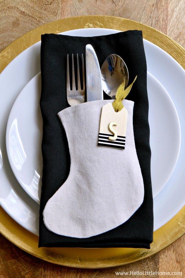 How to make a mini stocking | hgtv.