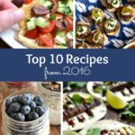 Top 10 Recipes from 2016 ... so many delicious vegetarian recipes ideas! These are the most popular recipes published on Hello Little Home in 2016! | Hello Little Home