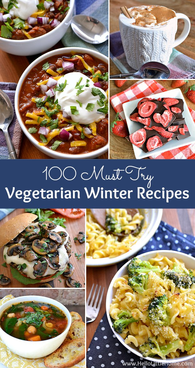 100 Must Try Winter Vegetarian Recipes