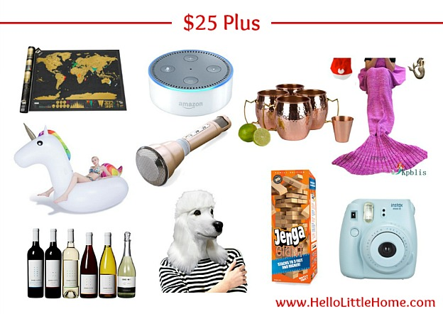 $25+ White Elephant Gift Ideas | Hello Little Home