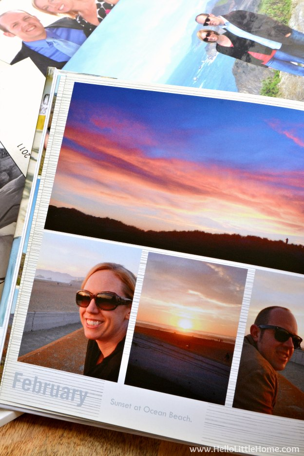 how to make a photo book at home
