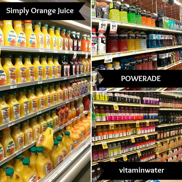Simply Orange Juice, vitaminwater, and POWERADE at Tom Thumb! | Hello Little Home