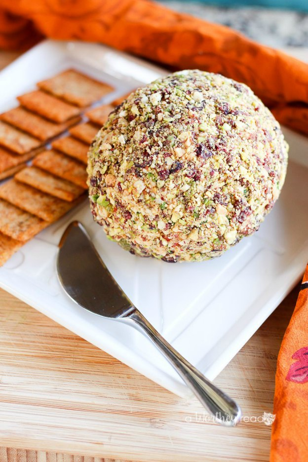 Savory Cheese Ball from A Worthy Read ... one of 100 Vegetarian Game Day Recipes! Get ready for the big game with over 100 vegetarian and vegan appetizers, soups, chilis, main dishes, sandwiches, breakfast, desserts, and more that will make your next football watching party unforgettable! | Hello Little Home