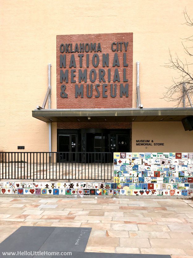 48 Hours in Oklahoma City travel guide! Take a tour of this fun, walkable city ... you won't believe all the things to do in Oklahoma City! OKC National Memorial and Museum | Hello Little Home
